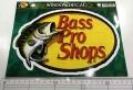 BassProShops バスプロショップス 「ダイカットビニールウィンドウデカール Mサイズ」