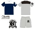 Chest114 チェスト114 「Heavy Weight football T-Shirts Tシャツ」「Sweat Shorts スウェットショーツ」