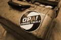 OPA! オーパフィッシングタックル 「ワインドロゴ ステッカー」