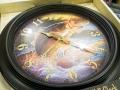 "ReflectiveArt リフレクティブアート 「16"" Wall Clocks 時計 Live To Fish」"