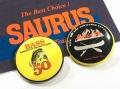 SAURUS ザウルス 「SAURUS缶バッチ」