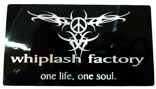 Whiplash Factory ウィップラッシュ ファクトリー 「ロゴステッカー」