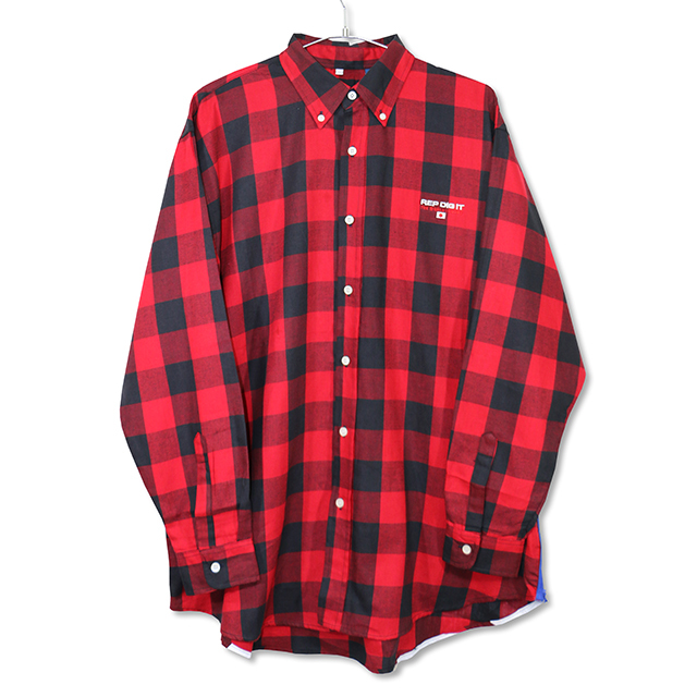 BB L/S BLOCK CHECK SHIRTS