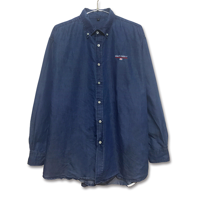 BB L/S WASHED DENIM SHIRTS