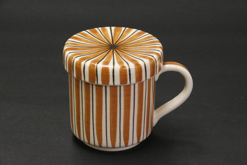 朱色マグカップ商品