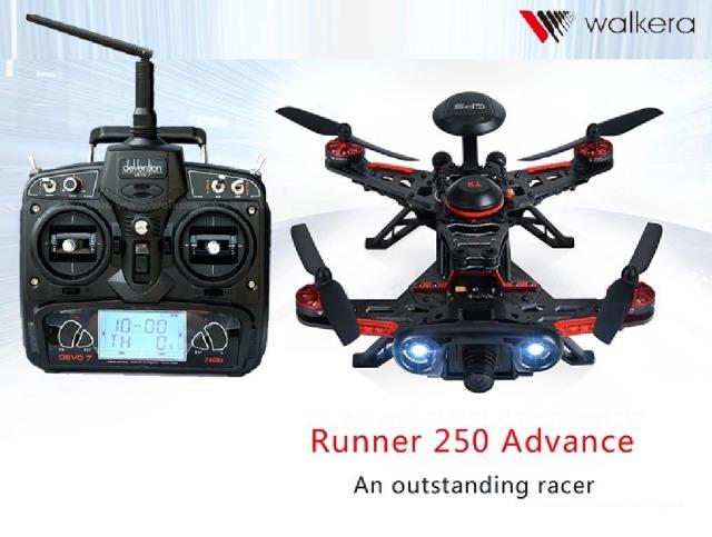 ORI RC WALKERA ワルケラ ランナー RUNNRE 250 アドバンス + DEVO7 セット (mode1) GPS付き カメラ・OSD・映像トランスミッター (runner250ad-m1) 技適・電波法国内認証済 日本語説明書付 ラジコン ヘリコプター ドローン