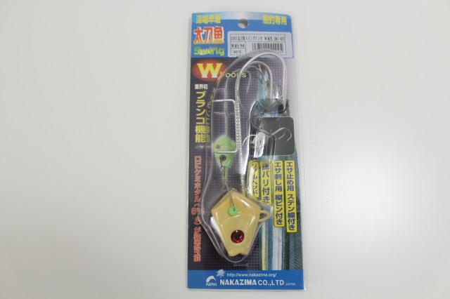ナカジマ 太刀魚スイミングテンヤW 夜光 M 40号(nak-022025)