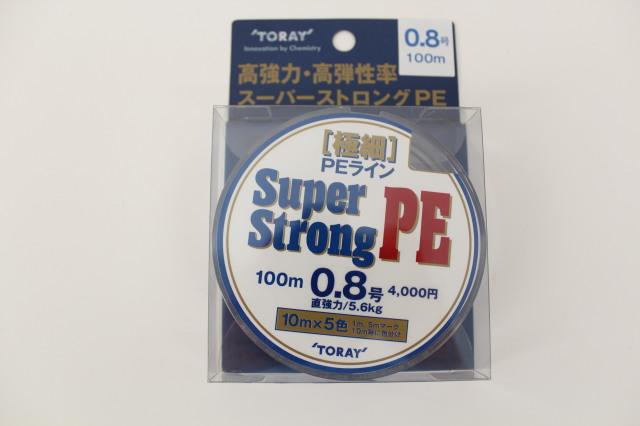 東レ スーパーストロングPE 100m 3.0号(tor-008500)