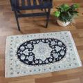ペルシャ絨毯ナイン産玄関マットサイズ