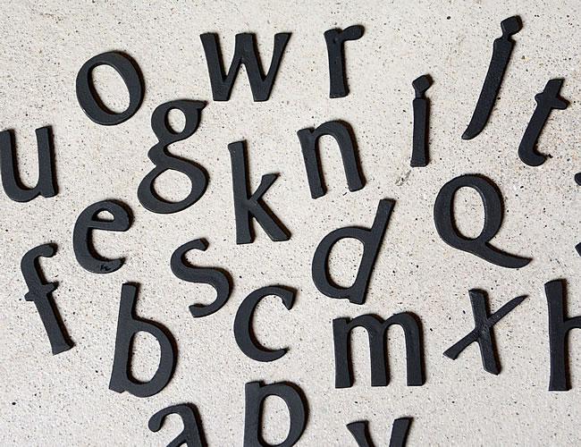 ブラスレター アルファベット S 小文字