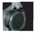 ウレタンキャスター 車輪直径75mm G93107XSET5 <ネット限定・お得!5個セット>