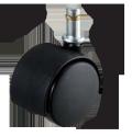ナイロンキャスター 車輪直径50mm(軸23L) W12911XOG10SET5 <ネット限定・お得!5個セット>