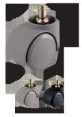 ウレタンキャスター 車輪直径50mm W13213XSET5 <ネット限定・お得!5個セット> VC2、VC33チェア代替兼用