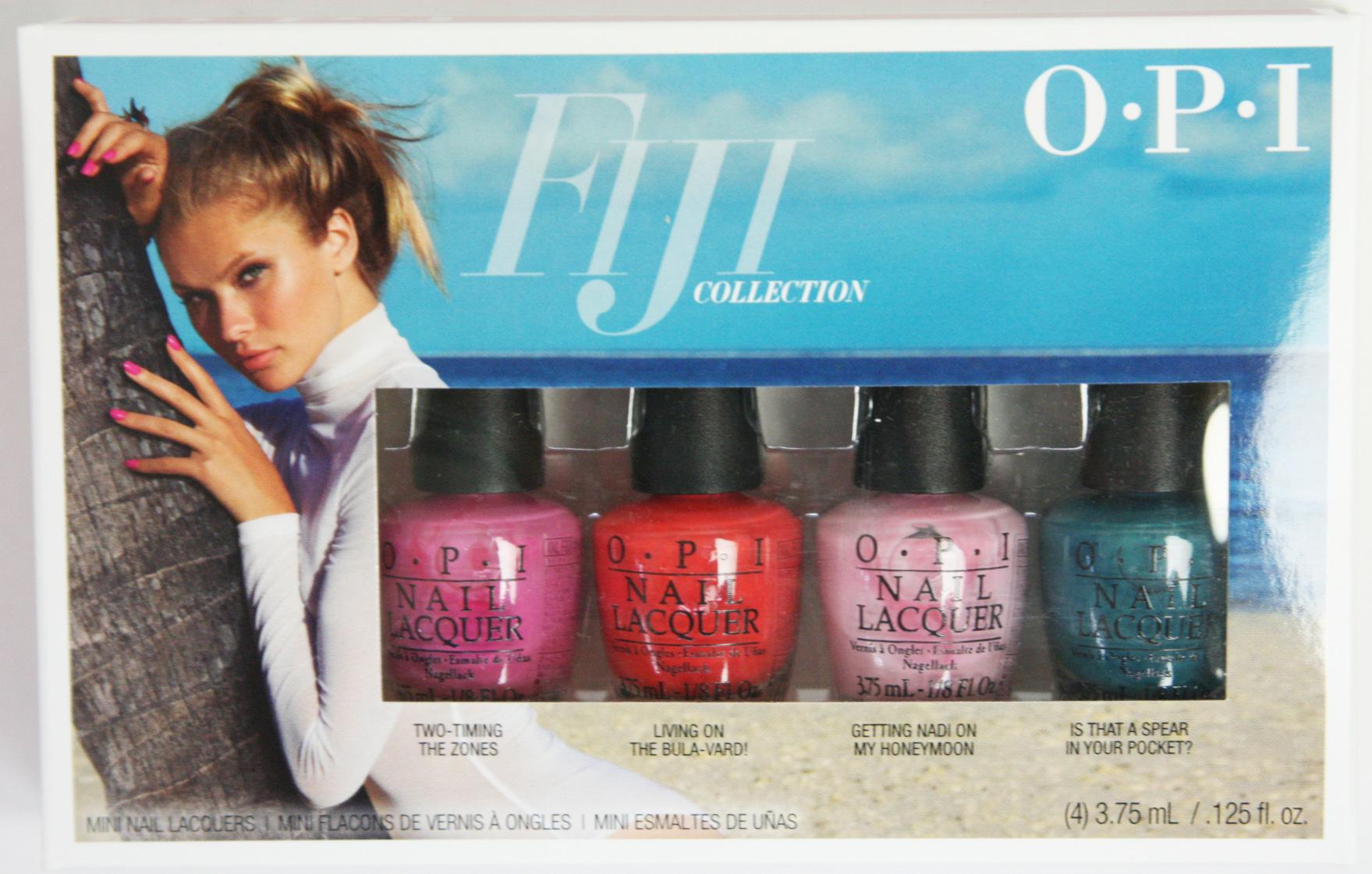 【40%OFF】OPI(オーピーアイ) フィジーコレクション ミニパック(f80/f81/f82/f85)3.75ml 計4本