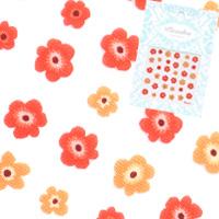【春ネイル】【pieadra13096】ピアドラ/ブルームオレンジ