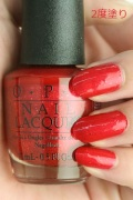 【40%OFF】OPI(オーピーアイ)  HR-H09 Fire Escape Rendezvous(ファイヤー エスケープ ランデブー)