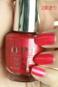 【40%OFF】OPI INFINITE SHINE(インフィニット シャイン) IS-LV12 Cha-Ching Cherry(Creme)(チェーリング チェリー)