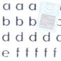 【pieadra95562】ピアドラ/アルファベット小文字シルバー(廃盤の為、在庫限り)