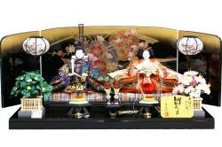 【雛人形】千匠作 本仕立「雛ごよみ」 二人親王飾り (44A-96)