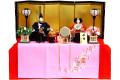 【雛人形】華芳作 「御雛」 毛氈収納飾り(14)