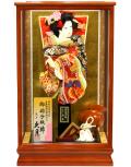 当日発送可:【羽子板】久月作  京舞あすか 彩花ケース飾り(15150-2)