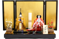 【雛人形】吉徳大光 藤井孝子作 立雛「雲井雛」 親王平飾り(305-770)