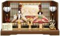 【雛人形】吉徳大光 「江都みやび 御雛」 親王平飾り(305-145)