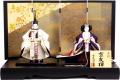 雛人形 千匠作 正絹 京友禅「立雛」親王飾り(45A-308)