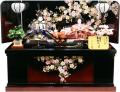 【雛人形】 千匠作 「雛ごよみ」 二人親王 収納飾り(45A-93)