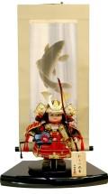 ポイント10倍!【五月人形】伯峰監修 「わらべ武者」 子供大将 掛軸飾り(650997-51)