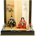 【雛人形】久月作 立雛  親王平飾り (S-29161)