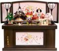 【雛人形】久月作 「よろこび雛」二人親王 コンパクト収納飾り (S-29180)