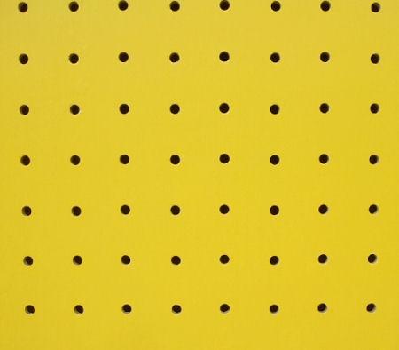 * カラー有孔ボード 黄 *