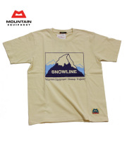 MOUNTAIN EQUIPMENT(�ޥ���ƥ� �������åץ���)��#421799 T����� ��Snowline Tee�ۥ��Ρ��饤��ԥ����