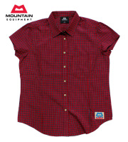 MOUNTAIN EQUIPMENT(�ޥ���ƥ� �������åץ���)��#422809 �ȥ�å��󥰥���� ��W's SS TARTAN SHIRT�ۥ�����󥺡����硼�ȥ��꡼�֡��������󥷥��