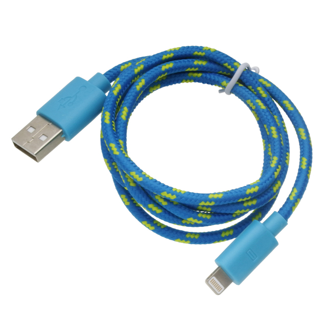 App8pinネットケーブル1mブルー