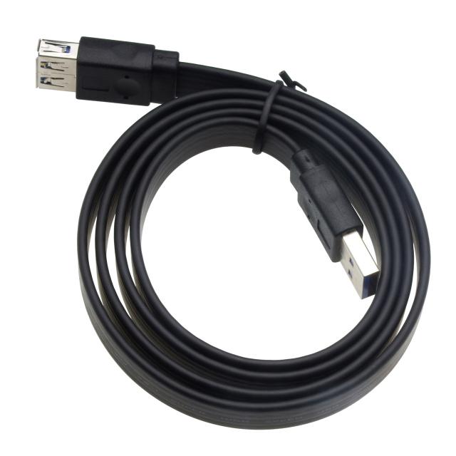 USB3.0 延長ケーブル1mブラック