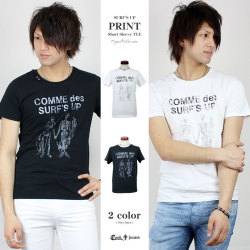 【41%OFF】【COOKJEANS/クックジーンズ】SURF'S UP Tシャツ 半袖 Tシャツ プリント サーフク(men's/メンズ)