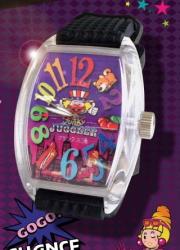 【送料無料】 ファンキージャグラー ウォッチ フランク三浦 腕時計 パチスロ スロット ジャグラー キャラクター グッズ ※5月中・下旬頃入荷予定