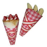 クレープ三角袋 Heart10−T01   4000枚