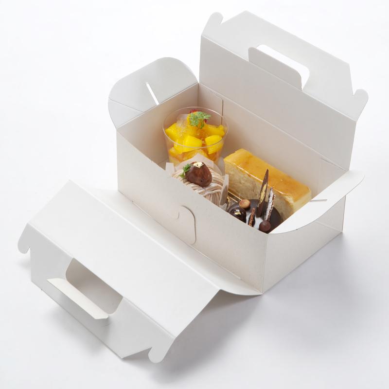 エコパームボックス キャリー(ケーキ箱) L (20枚)