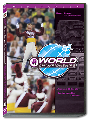 【マーチング DVD】2011 DCI World Championships Vol.1(World Class1-12)【2枚組】