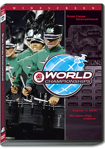【マーチング DVD】2012 DCI World Championships Vol.3 (Open Class Finalists)