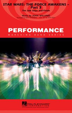 【マーチング 楽譜】「スター・ウォーズ/フォースの覚醒」パート3(エンディング)
