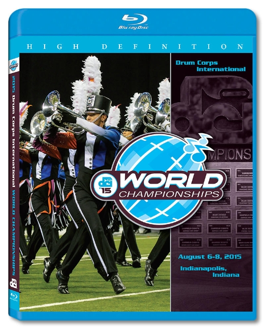 【マーチング ブルーレイ】2015 DCI World Championships Vol.1(World Class1-12)