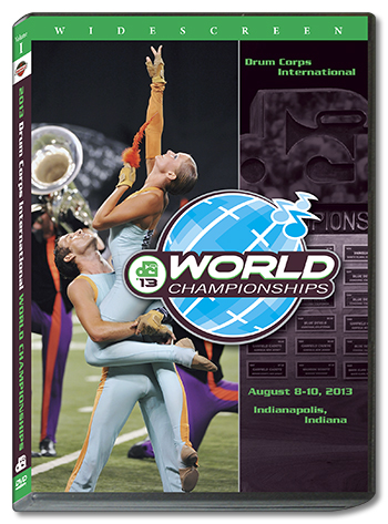 【マーチング DVD】2013 DCI World Championships Vol.1(World Class1-12)