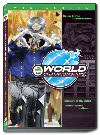 【マーチング DVD】2013DCI World Championships Vol.2 (World Class 13-22)