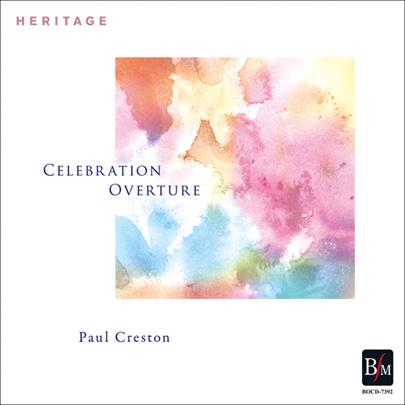 【吹奏楽 CD】P.クレストン/祝典序曲 ~≪HERITAGE≫後世に伝える吹奏楽作品
