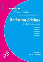 【アンサンブル 楽譜】喜歌劇「こうもり」セレクション【クラリネット5重奏】