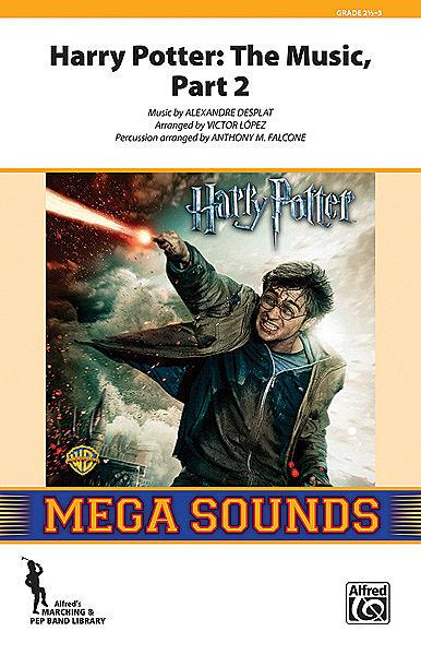 【マーチング 楽譜】「ハリー・ポッター・メドレー」パート2(プロダクション)